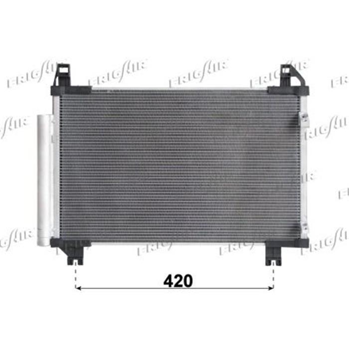 Kondensator/Klimakühler - PKW - Toyota