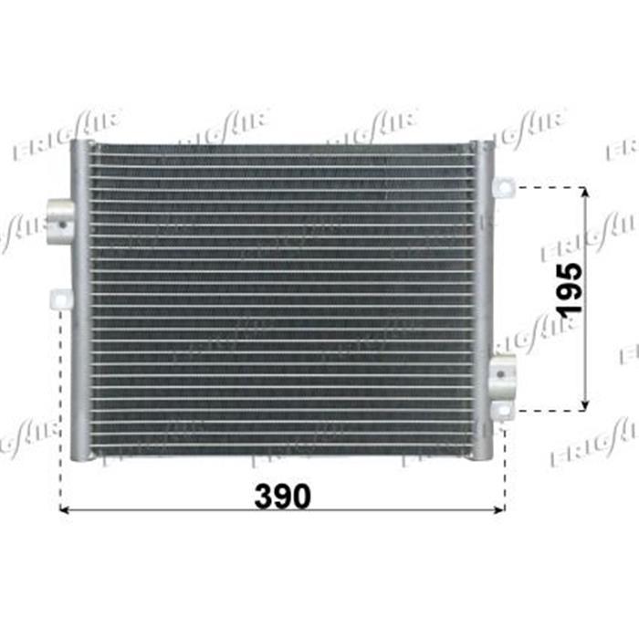 Kondensator/Klimakühler - Porsche