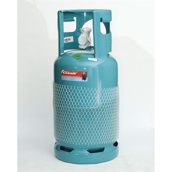 Kältemittel R134a - Inhalt: 12,0 kg - Pfandflasche - Tauschteil