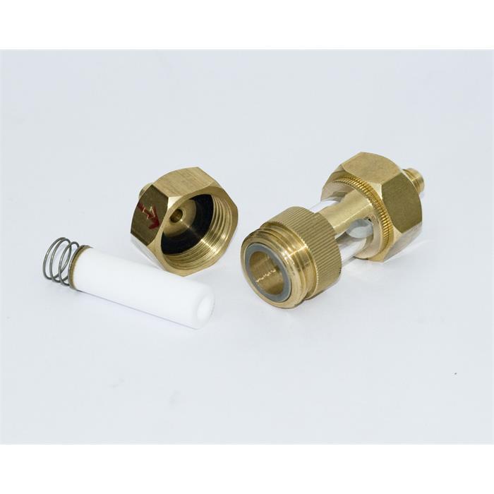 Schutzfilterset mit Schauglas + Filter (R134a)